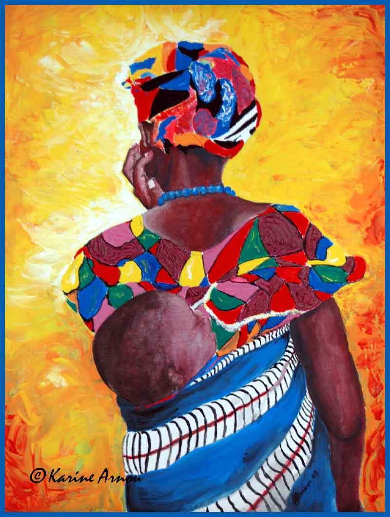 Fête des mères à Niouboua